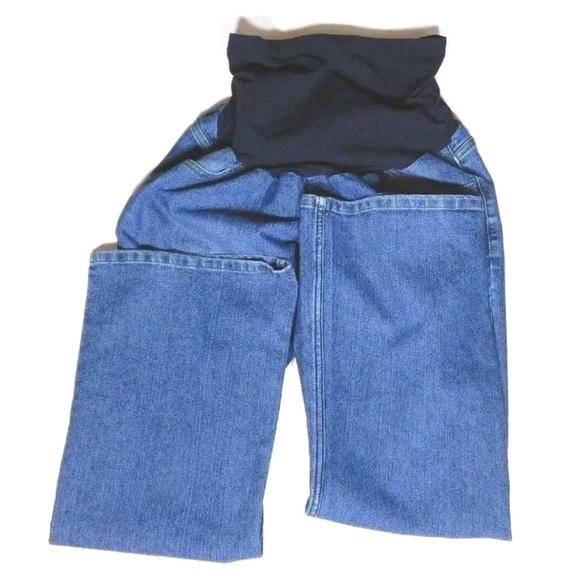 Motherhood Maternity Denim - Motherhood Maternity Jeans Boot Cut PETITE LARGE
